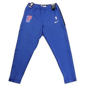 New Nike Detroit Pistons Team Issued Pro Cut Pants